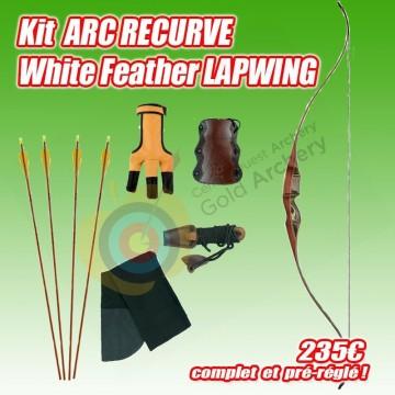 Kit Recurve White feather Lapwing