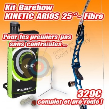 "Kit KINETIC Arios 25"" barebow"