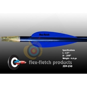 Flex-Fletch plumes plastique  FFP250