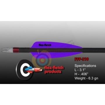 Flex-Fletch plumes plastique  FFP310