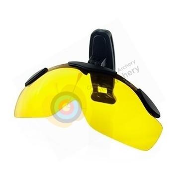 Shoot-off  A clipper jaune Polarisé