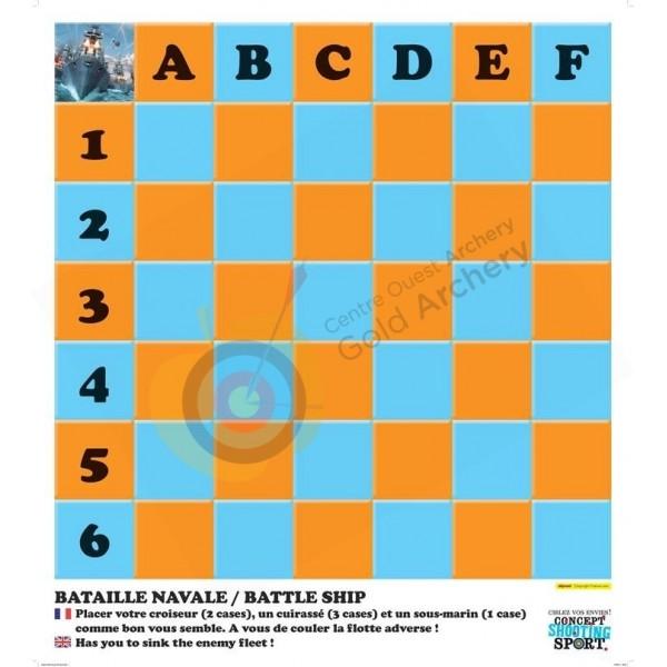 CSS Blason jeu BATAILLE NAVALE (diametre 80)
